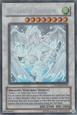 YUGIOH Card Stardust Dragon TDGS-EN040 Ghost Rare Unlimited Edition