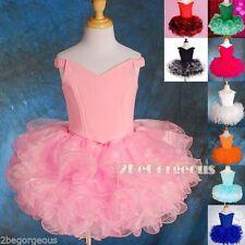 Short Length Polyester Sleeve Dresses (2-16 Years) for Girls