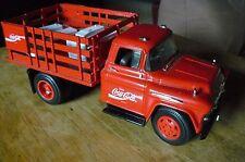 ERTL 1957 CHEVY COKE A COLA STAKE BODY TRUCK 1/18 SCALE
