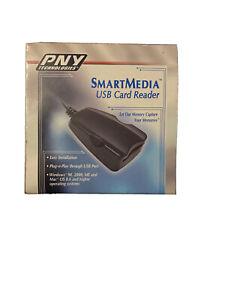 2002 USB Card Reader SmartMedia 1.1 PNY Technologies - Windows/Mac Compatible