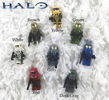 Halo Lego Minifigures | Full Set | 8 Pack