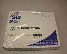 NEO SCI ABO -RH Blood Typing Lab Investigation