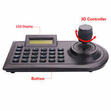 3 Axis Dimension Joystick Keyboard Controller LCD Display for PTZ CCTV Camera