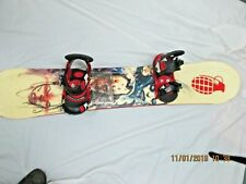Snowboard By Lamar 57'' With Cartel Bindings