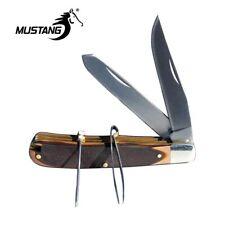 Stockman's Pocket Knife w Pick & Tweezers