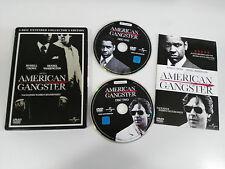 AMERICAN GANGSTER 2 DVD STEELBOOK ENGLISH DEUTSCH - GERMAN EDIT RUSSELL CROWE