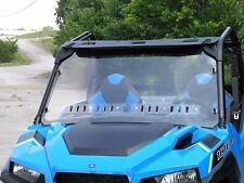 Polaris General Lexan Windshield with Dual Vents & Lexan Back with Dual Vents
