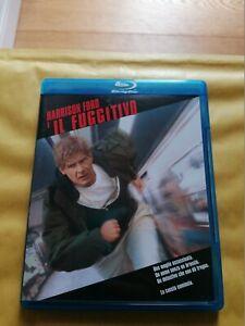 Il Fuggitivo Harrison Ford Blu-ray  Cult Vintage V.Italiana Pal Fuori Catalogo