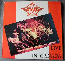 Starz, live in Canada, LP - 33 tours