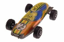 Vintage Rare Tin Toy Racing Car N2 Russian USSR Misha Bear Olympic Moscow 1980s