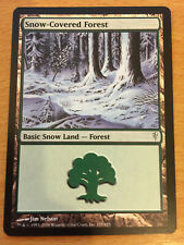 MTG 1x Snow-Covered Forest Green Land Coldsnap Set Magic the Gathering Card