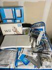 Nintendo Wii Console Bundle Fit, Sports, Balance Board Games Box Dancepad Works
