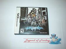 * New * Sealed * The World Ends With You - Nintendo DS (or 3DS)  USA