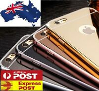 NEW For iPhone 7 / 7 PLUS Luxury Aluminum Ultra-thin Mirror Metal Case Cover