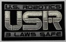 """Isaac Asimov's I Robot US Robotics USR Logo 3.5"""" Patch (IRPA-01)"""
