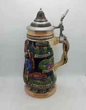 More details for limited edition german beer stein king werk schwarzwald cuckoo clock tankard