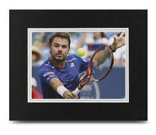 Stan Wawrinka Signed 10x8 Photo Display US Open Tennis Autograph Memorabilia COA