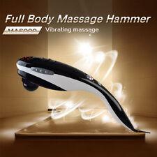 Black Handheld Massager Body Shoulder Back Leg Pain Relax Massage Slim Machine