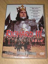 Richard III DVD - John Gielgud ,  Ralph Richardson , Laurence Olivier(R0)