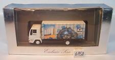 Herpa 1/87 182256 MAN L2000 LKW Koffer Kiesel Denk-Fabrik OVP #6150
