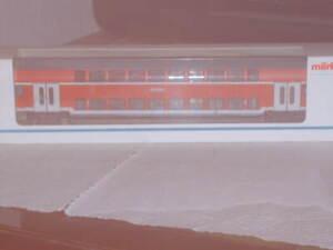 Märklin- HO Doppelstockwagen  1/2. Klasse DABz der DB-AG Neuwertig +OVP 43584