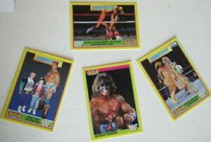 Merlin 1992 ~ W.W.F Summerslam 92 Gold series 2 Cards Card Variants (e7)