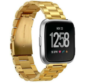 Stainless Steel Watch Band For Fitbit Versa 2/Versa Lite Replacement Metal Strap