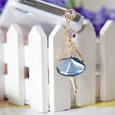Crystal Ballet Girl Anti Dust Plug for iPhone, Samsung & 3.5mm Earphone Jack TOP