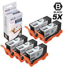 LD Compatible Lexmark 100XL / 100 14N1068 5pk High Yield Black Inkjet Cartridges
