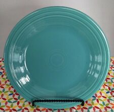 Fiestaware Turquoise Dinner Plate Fiesta Blue 10.5 inch Plate