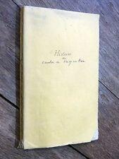 G. Husson - Histoire & Géographie du Canton de Crécy-en-Brie 1892 Seine-&-Marne
