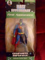 DC DIRECT FIRST APPEARANCE SERIES 3 COMPOSITE SUPERMAN BATMAN FIGURE NEW
