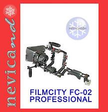 Filmcity FC-02 Camera Cage Rig Shoulder Matte Box_Steadycam Flycam Spalla Steady