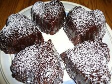 RICH HOMEMADE CHOCOLATE CAKELETS WITH GANACHE ICING (12 CAKELETS)