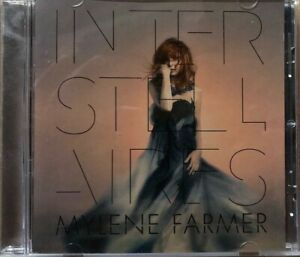 CD - MYLENE FARMER - INTERSTELLAIRES - BOITIER CRISTAL