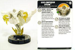 HeroClix - #061 God Emperor Doom - Fantastic Four