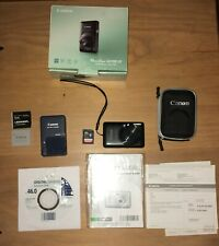 Canon PowerShot SD780IS Digital Elph Camera 12.1 MP And Accessories