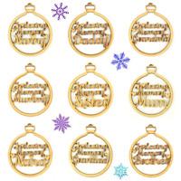 'In Loving Memory' Family Christmas Bauble Decoration - Mum, Dad, Nan etc - B263