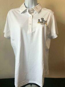NFL SB LV Tampa Bay Buccaneers Championship Women's Golf Polo Shirt Size M