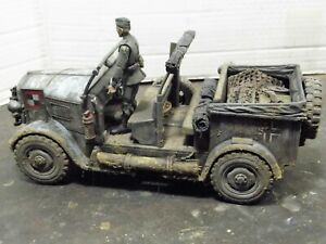 1/16 scaled WWll HORCH 'REPLICA' COMMAND /BATTLE SUPPORT CAR
