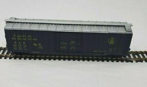 Athearn H0 B & O 50' Outside Braced Box Car Train 481214 Cushion Underframe