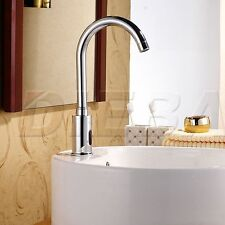 Hands Free Automatic Sensor Water Tap Kitchen Sink Bathroom Basin Faucet Taps