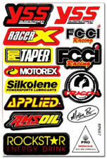 Stickers Pocket bike, cross, quad, Moto, vélo VTT AUTOCOLLANTS