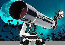 "CELESTRON Omni XLT 4"" f/6.5 REFRACTOR Telescope, TRIPOD+FREE Star&Planet Locator"