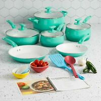 Cookware Set Ceramic Non-Stick 16-Piece Titanium-Reinforced, Dishwasher Safe