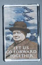 World War II Magnet - Winston Churchill quote - 1939-45