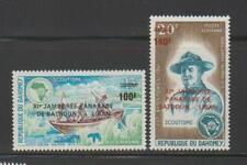 DAHOMEY  STAMPS 1974 BOY SCOUTS OVPTD PAN ARAB JAMBOREE  MNH - MISC530