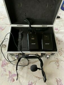 Shure FP1 FP5 WH20 wireless microphone kit with free case