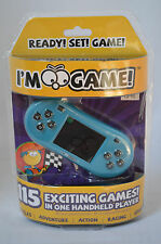 I'm Game GP115 Handheld Game 115 Games in 1, Blue #E1