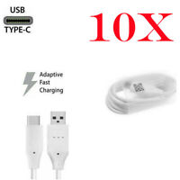 10X For LG Samsung USB C Type-C Fast USB Charging Data SYNC Charger Cable Cord